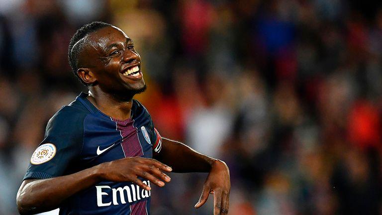 Blaise Matuidi left PSG for Juventus
