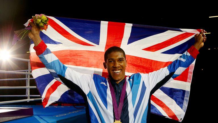 Anthony Joshua struck gold at London 2012, as did Oleksandr Usyk