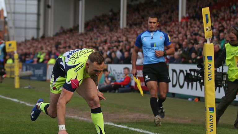 Bryon McGuigan secured the bonus point for the Sharks