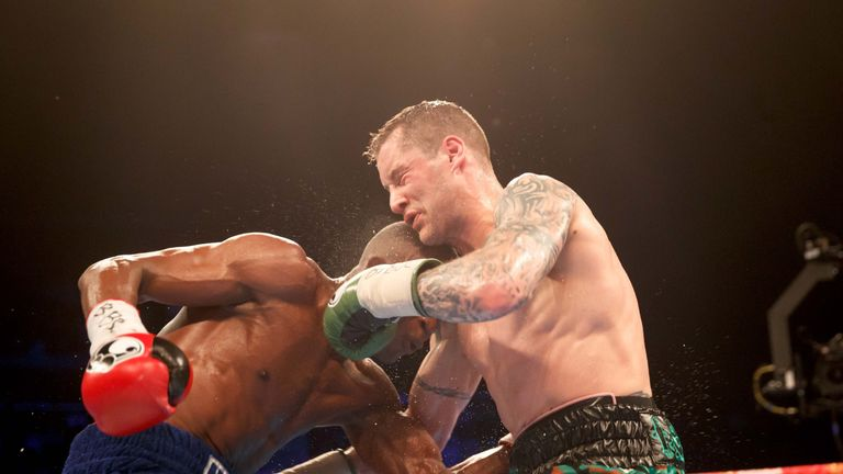Indongo impressed when defeating Ricky Burns to add the WBA world title to his IBF strap