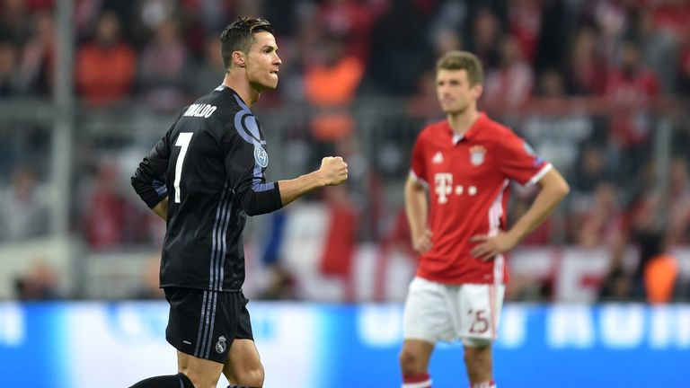 Real Madrid face Bayern Munich in the Champions League semi-final, having beaten them in last year's last eight