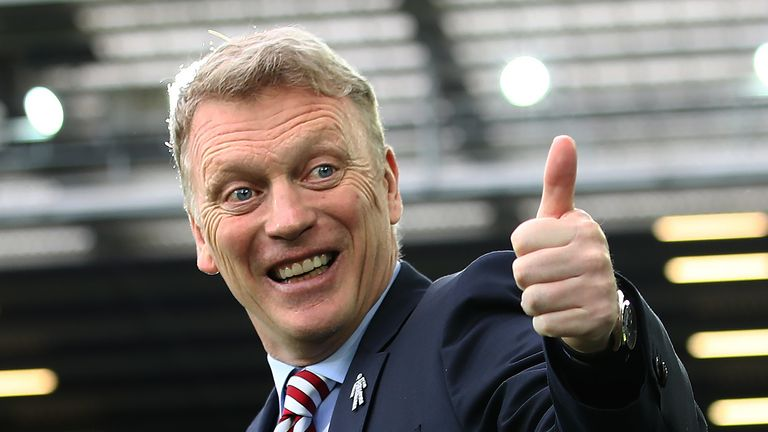 Moyes' first game in charge of West Ham will be at Watford on Sunday, live on Sky Sports