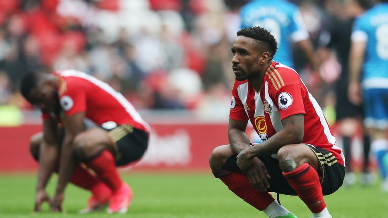 Defoe's relegation clause allows him to exit the Stadium of Light on a free transfer