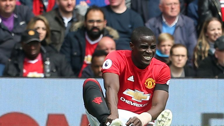 Eric Bailly twisted his ankle in the same game