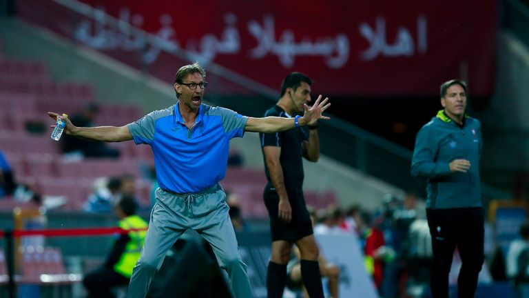 Tony Adams lost his first match in charge of new club Granada