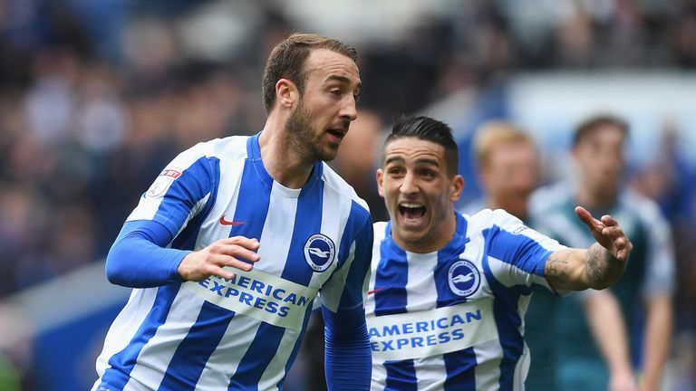 Brighton are aiming for the title at Villa Park