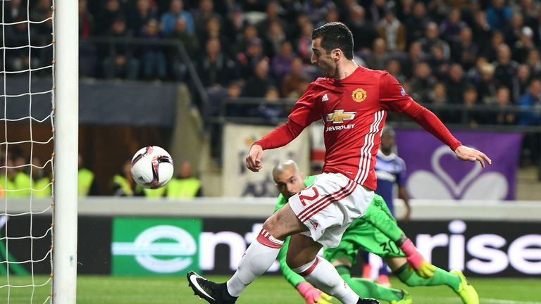 Mkhitaryan has shone for United more so in Europe than the league this campaign
