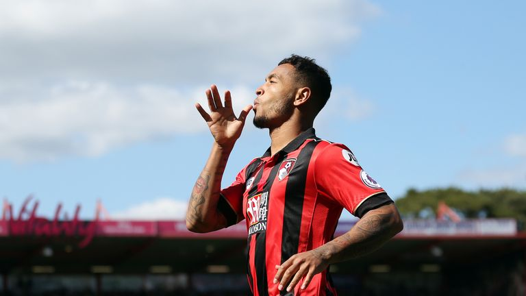Josh King has signed a new long-term deal with Bournemouth