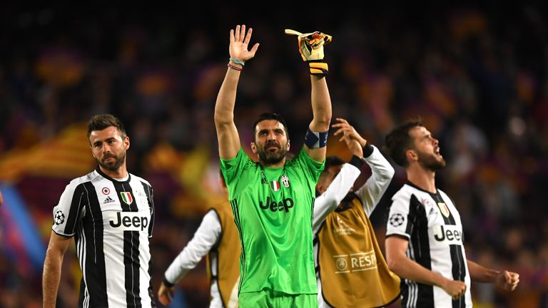 Gianluigi Buffon is looking to win the Champions League for the first time