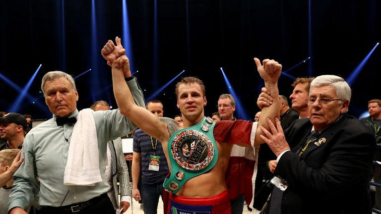 Mairis Briedis beat Marco Huck for the WBC cruiserweight title