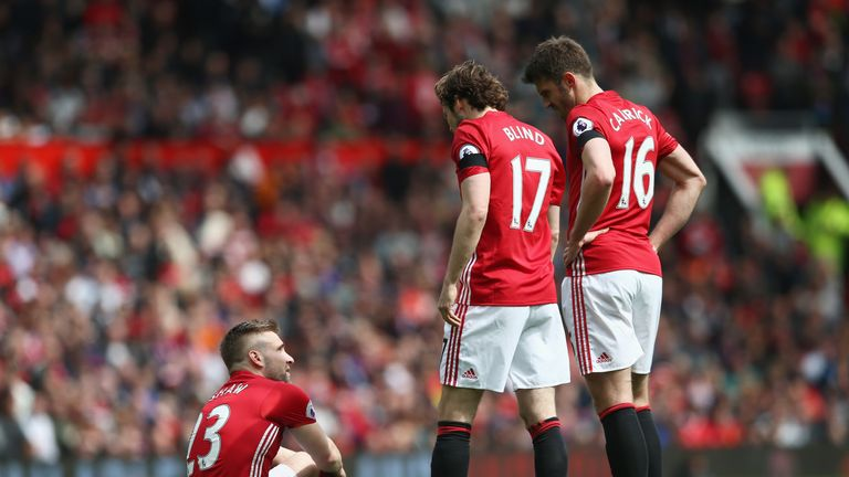 An untimely injury halted Shaw's progress in response to struggling at United