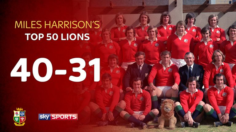 Miles Harrison continues his list of the 50 greatest Lions
