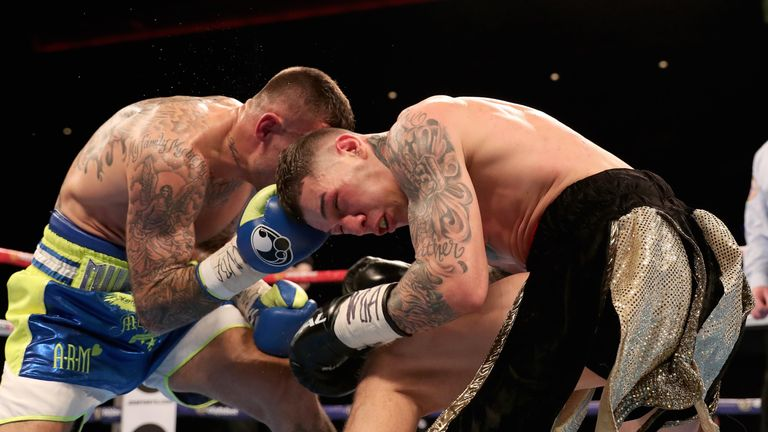 Rosado briefly troubled Murray in the closing rounds