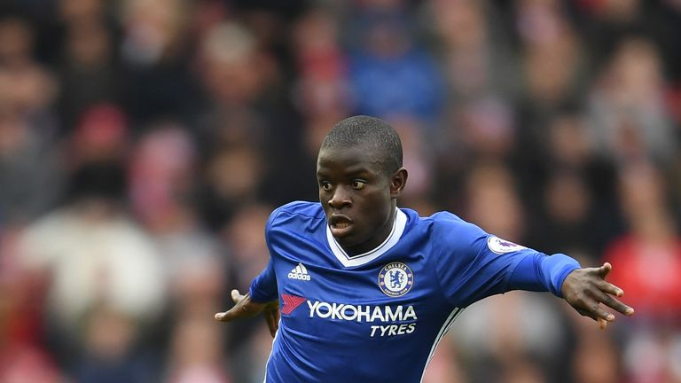N'Golo Kante is set to return for Chelsea