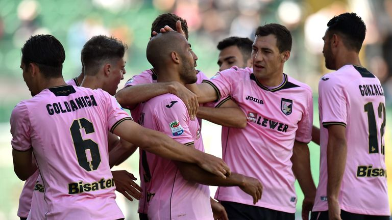 Palermo breathed life into their survival bid with victory over Fiorentina