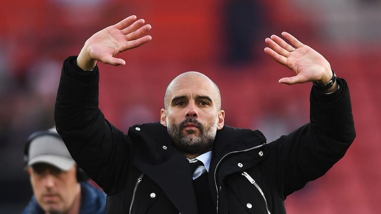 Pep Guardiola's first year at Man City was a difficult one