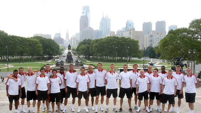 The Manchester United squad of 2002 followed in Rocky's footsteps