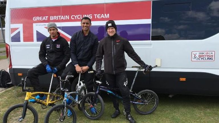 Quillan is training in Papendal and Zolder with his GB team-mates (Instagram @quillan96)