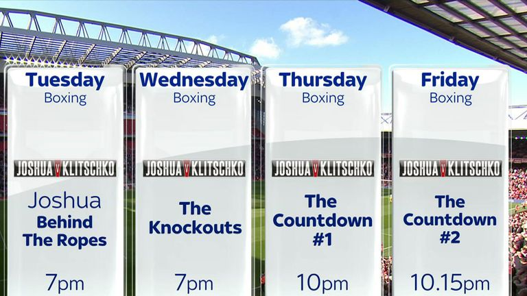 The four shows coming your way from Tuesday