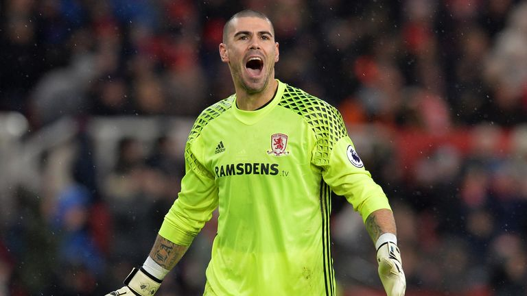 Image result for victor valdes middlesbrough