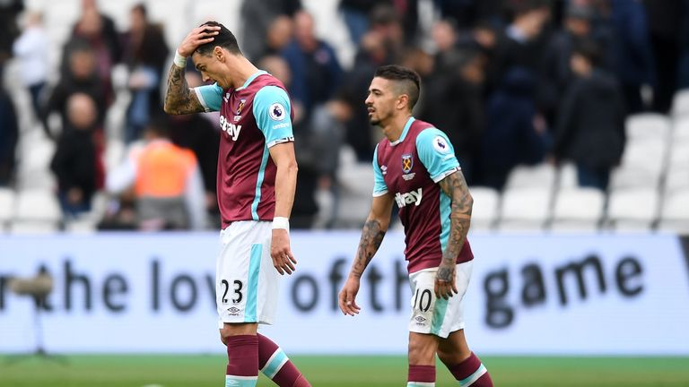 Jose Fonte has struggled since joining West Ham from Southampton in January