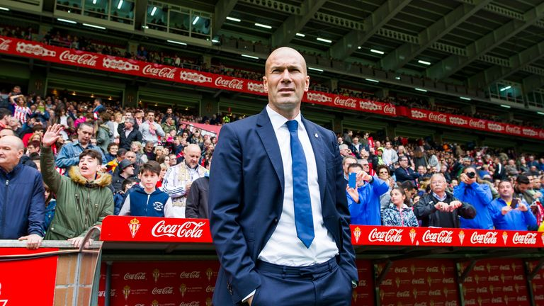 Zinedine Zidane has more clout than previous managers at Real Madrid when it comes to decisions