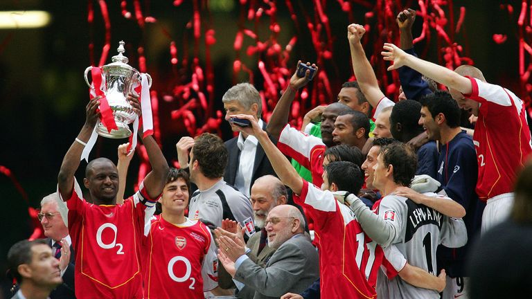Arsenal won the FA Cup against Manchester United