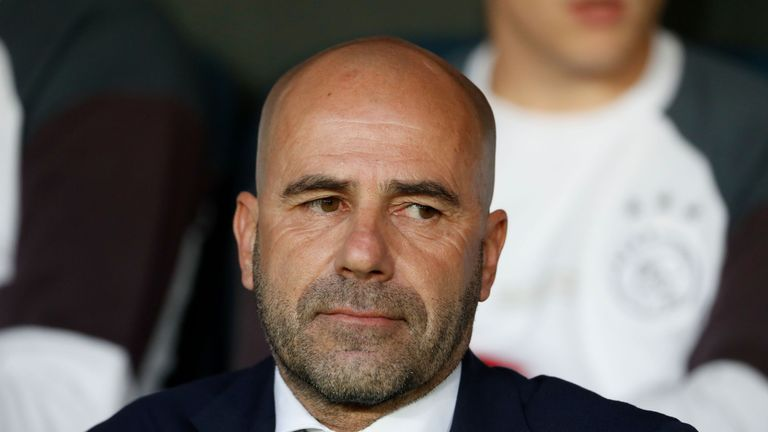 Manchester United's tactics made for a boring game, says Ajax boss Peter Bosz
