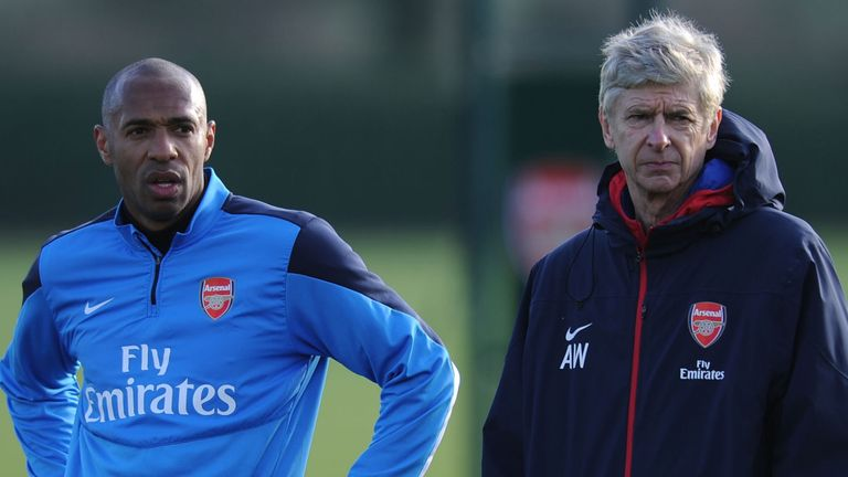 Arsene Wenger says Henry is interested in the role