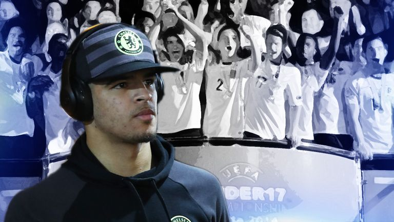 Dominic Solanke top scored at the 2014 tournament but is playing a waiting game