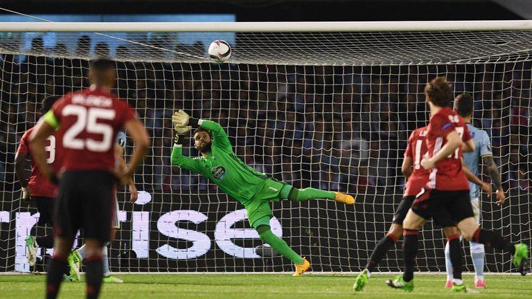 Marcus Rashford scored a spectacular free-kick against Celta Vigo in Spain