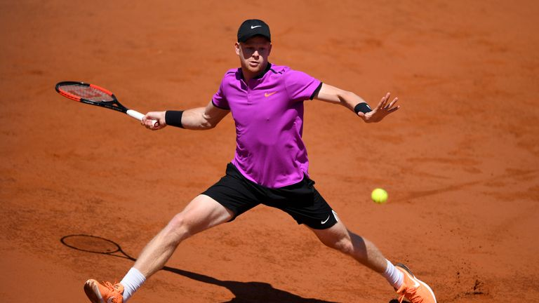 Edmund says clay is one of his favourite surfaces