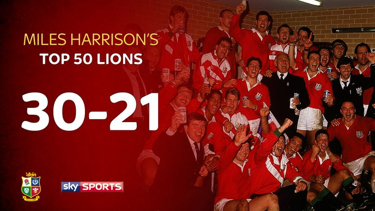 Miles Harrison continues his countdown to the 2017 Lions tour