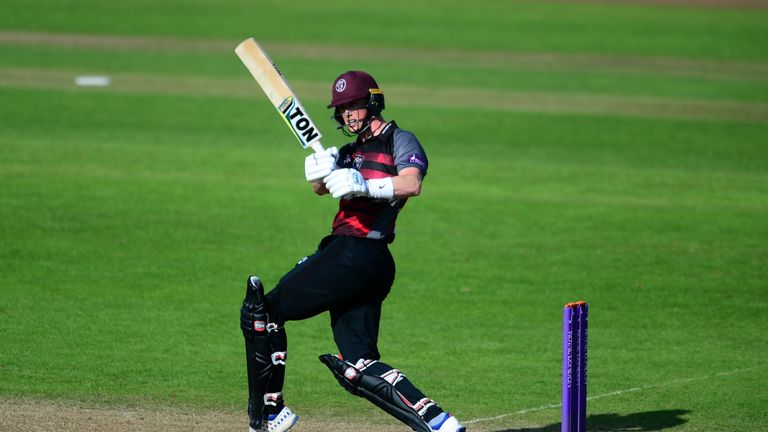 Adam Hose scored a maiden List A century in Somerset's win over Gloucestershire
