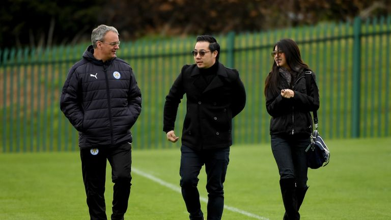 Leicester's vice chairman (R) has his eyes on development in Belgium
