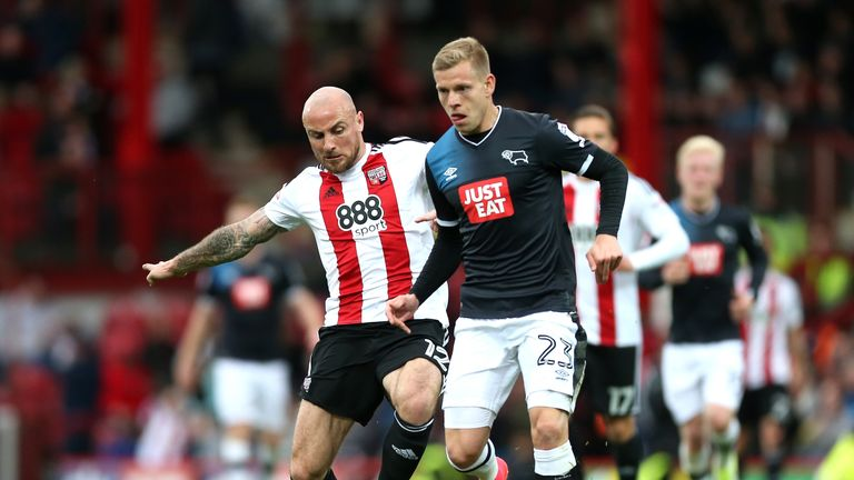 Alan McCormack will leave Brentford this summer