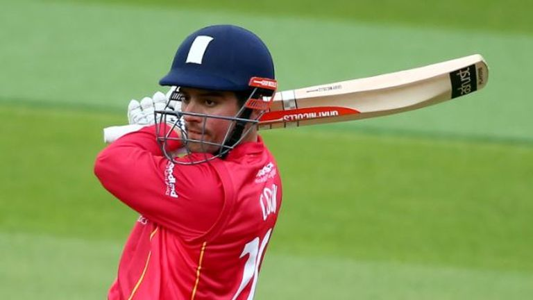 Alastair Cook continued his fine form for Essex in the competition with a half century