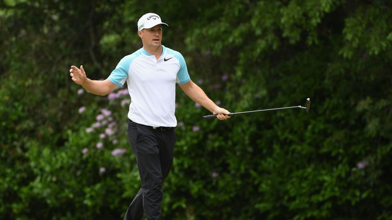 Alex Noren fired a stunning 10-under 62 which he described as one of the best rounds of his career