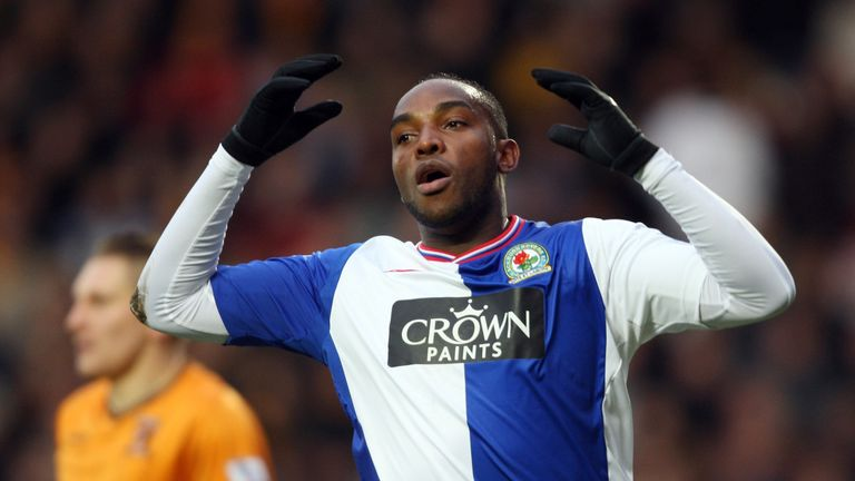 Benni McCarthy scored 18 goals in a season for Blackburn with not one assist