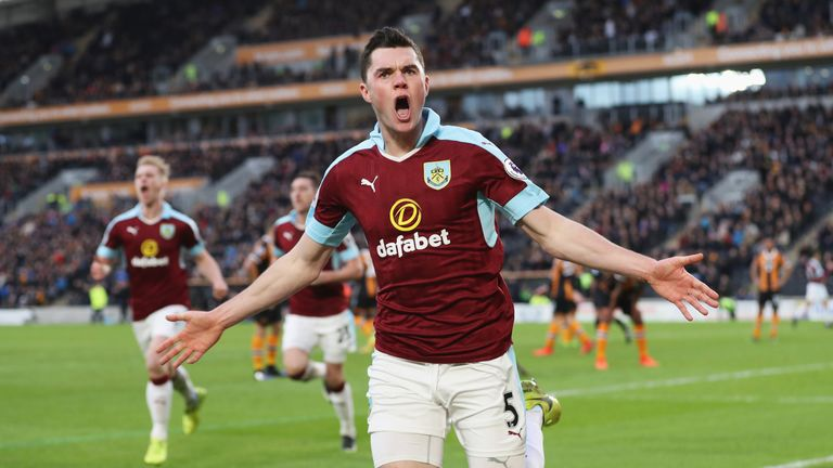 Michael Keane left Manchester United in 2015 after four years at the club