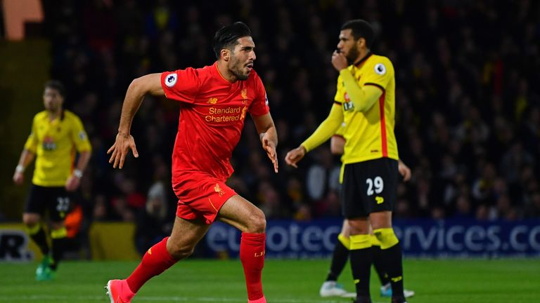 Emre Can has been linked with a move away from the Premier League