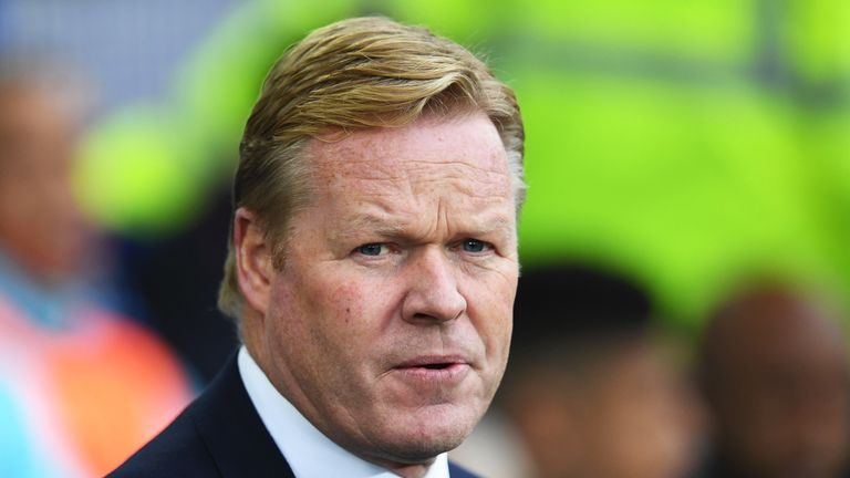 Ronald Koeman told Jose Mourinho to 'be realistic' after the Man United boss said Everton should expect a top-four finish