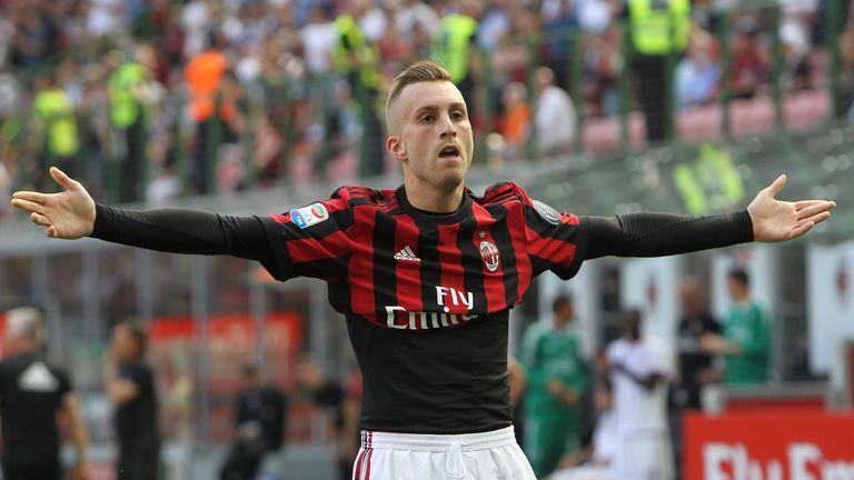 The 25-year-old has denied rumours linking him with a move back to AC Milan