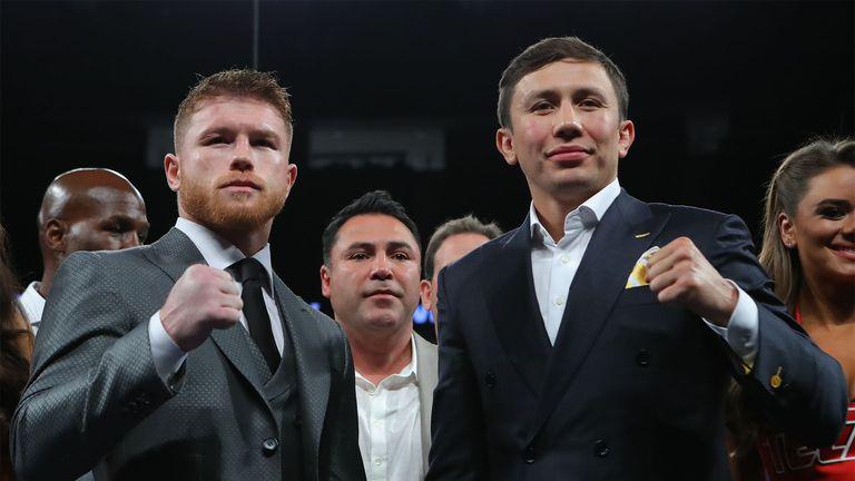 Saul Alvarez (left) will face Gennady Golovkin (right) on September 16