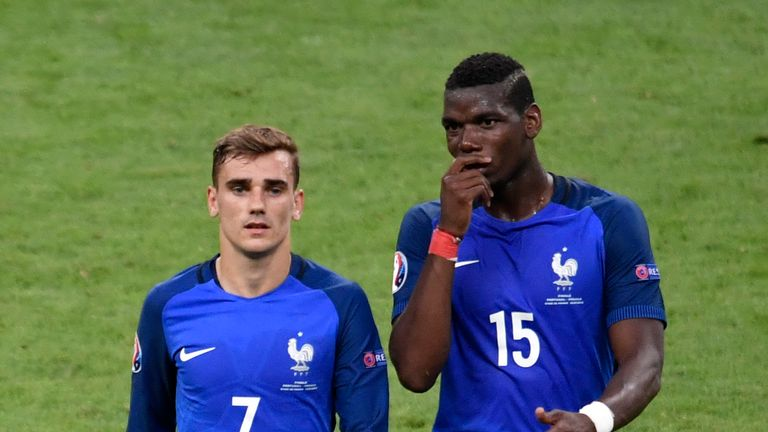 Griezmann could yet be playing alongside Paul Pogba at club level