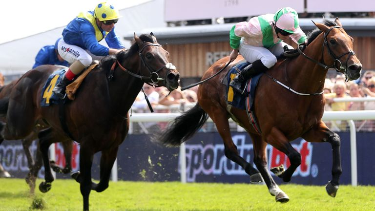Deauville and Ryan Moore fend off Poet's Word