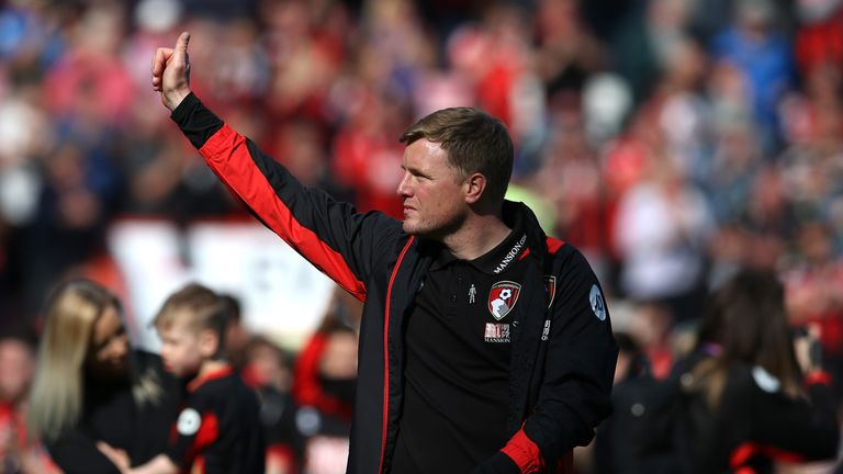Eddie Howe says Cook is capable of playing at 'the very highest level'