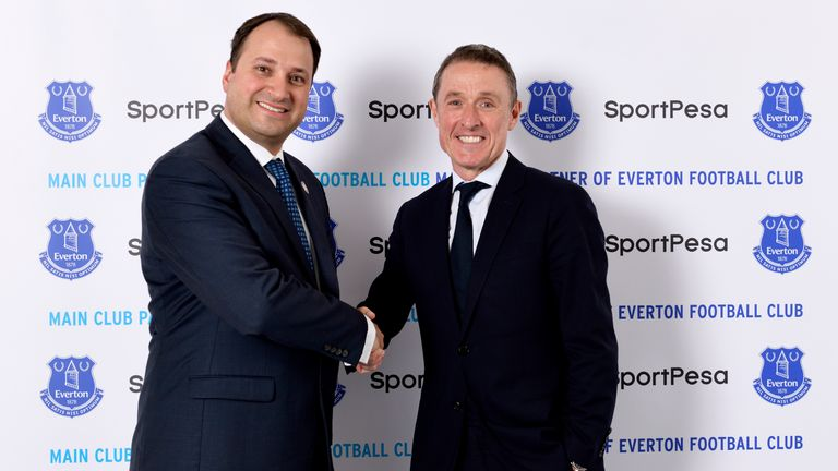 Elstone (right) has worked in his current capacity at Everton for a decade