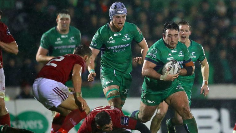 Denis Buckley misses out after Connacht's poor season, and so will remain uncapped