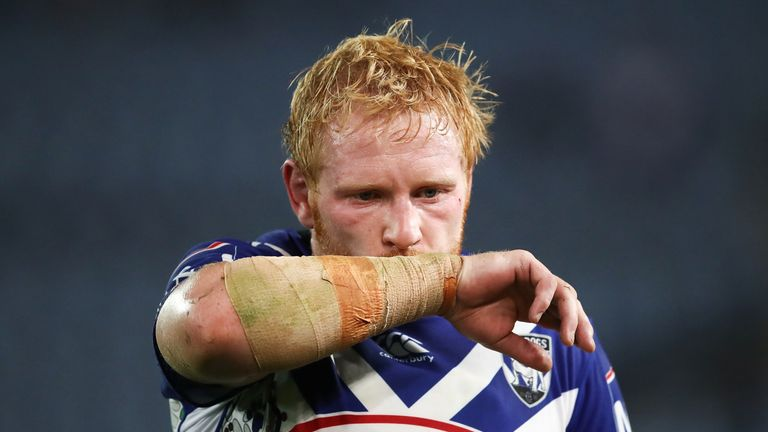 James Graham has completed his move from Canterbury Bulldogs to St George Illawarra on a three-year contract